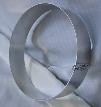 Tortenring aus Aluminium ØxH: 260 x 60 mm NEU ( 10 Stück )