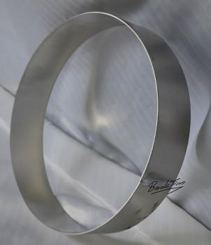 Tortenring aus Aluminium ØxH: 200 x 60 mm NEU ( 10 Stück )