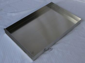 Kuchenblech / Backblech mit Vorsatzschiene ca. 40 x 58 x 5 cm NEU ( 10 Stück )