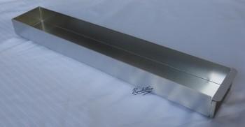 Kuchenblech / Backblech mit Vorsatzschiene ca. 10 x 58 x 5 cm NEU ( 10 Stück )