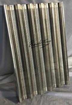 Baguetteblech600x400 mm 5 Längstmulden NEU (5 Stück )