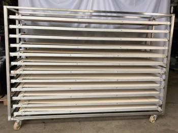 Abziehwagen  mit 12 Abzieher für 220cm Teilweise NEU